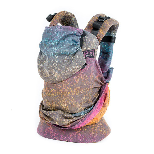 Easy Emeibaby bæresele Dark Baali Rainbow