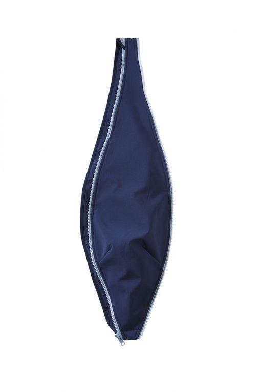 Mamalila softshell navy-ice bærejakke