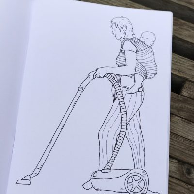 The gentle parenting colouring book fra Familiestreger