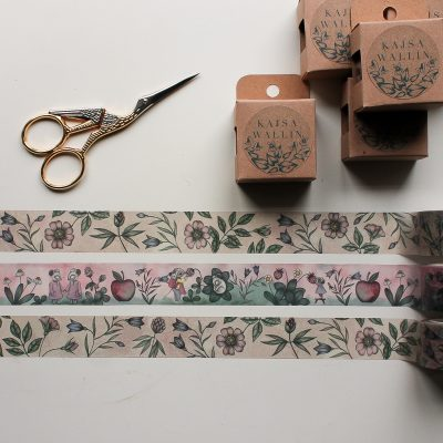 Washi tape fra Kajsa Walin