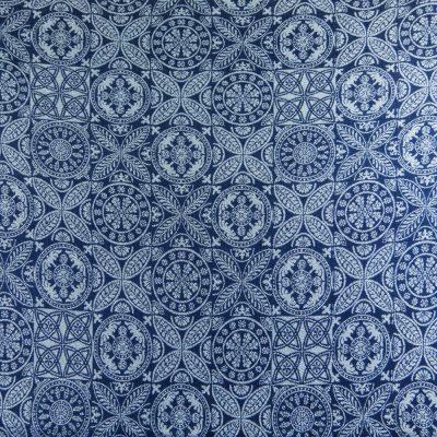 Fastvikle Didymos Azulejo Linen