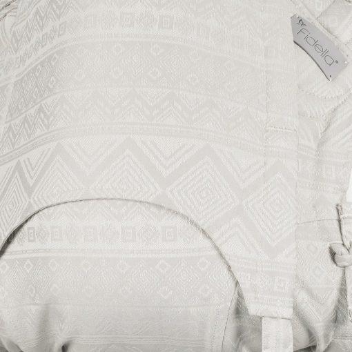 Fidella Flytai Cubic Lines Pale Grey med dai