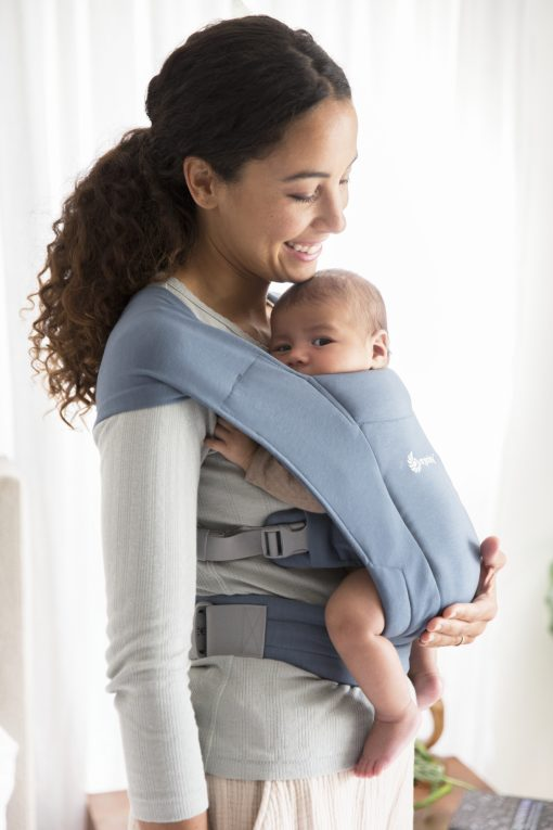 Ergobaby Embrace Oxford Blue bæresele