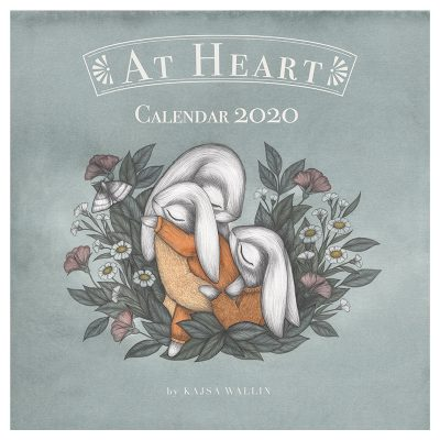 Kajsa Wallin kalender 2020 - At Heart