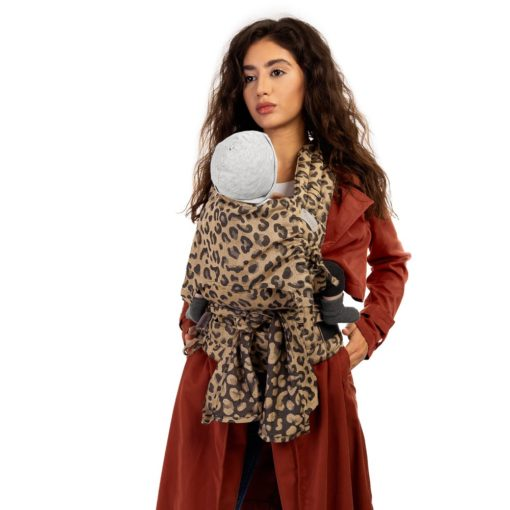 Fidella Flyclick Leopard Gold meh dai baby