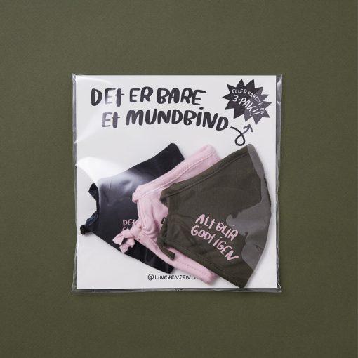 Mundbind, Line Jensen Illu