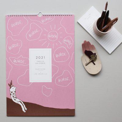 2021 Kalender, Line Jensen Illu