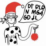 Gaveindpakning og Julekort fra Line Jensen Illu