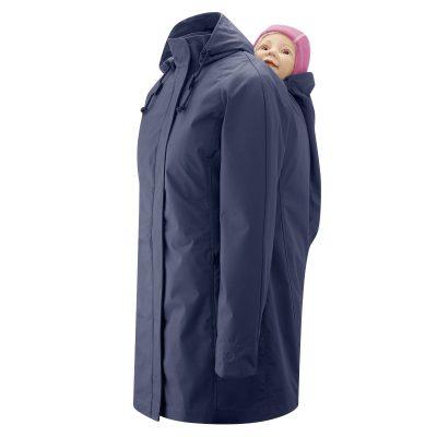 Mamalila Navy Short Coat Berlin bærejakke