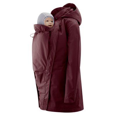 Mamalila bordeaux Short Coat Berlin bærejakke